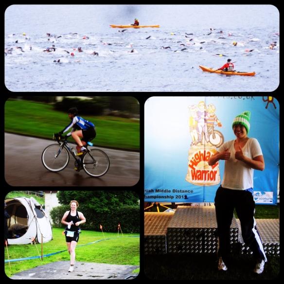 Swim bike run compilation triathlon image