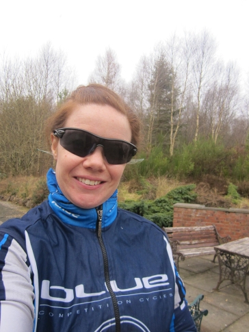 Wk5 My first wee jaunt out on the bike before the snow came back :P