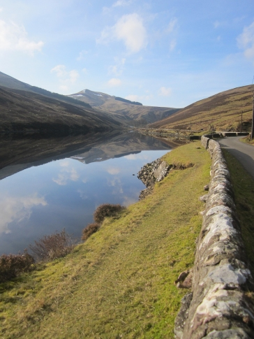 Wk4 Beautiful still day in February in the Pentland Hills.