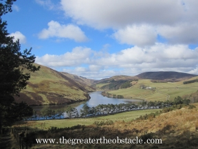 Glencourse Reservoir, Pentland Hills National Park