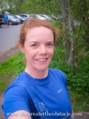 Run done now to strip off in the car park at RedMoss…nae shame me!